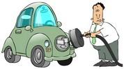 Plugging car