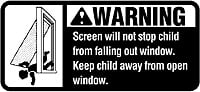 window warning