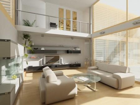 large apartment interior