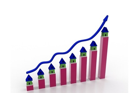 chart housing increase growing  up