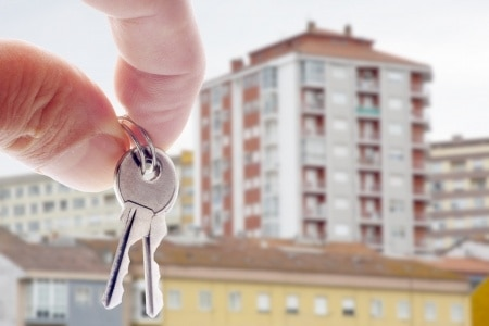 sale of rental property building keys