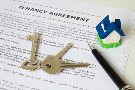 tenant agreement form application keys house pen