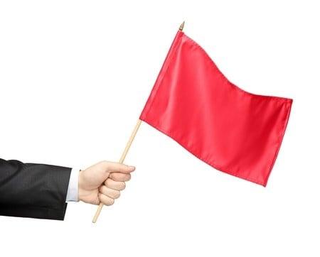 criminal report red flag