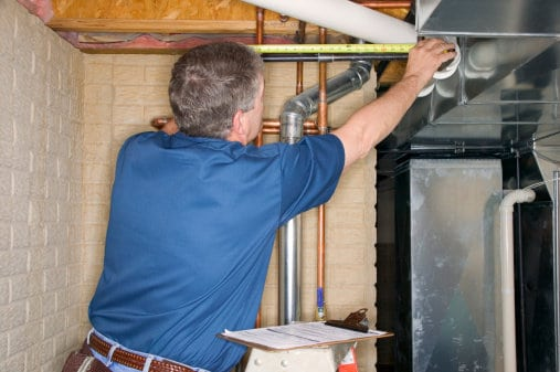 contractor repair airduct measure