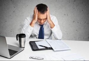 stress work landlord office