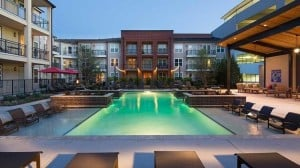 apartments pool community