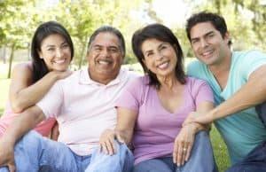 latino hispanic family happy tenants