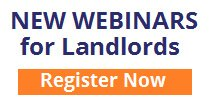 New Webinars for Landlords, Register Now