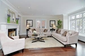 Staged-Living-Room interior