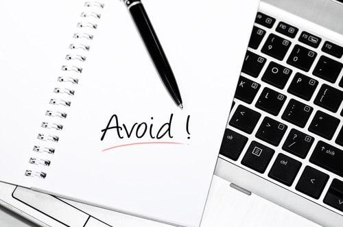avoid these mistakes