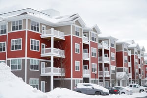 Apartments During The Winter